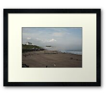 Scarborough Sea Fret 2 Framed Print