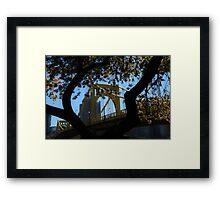 9th Street Bridge Framed Print