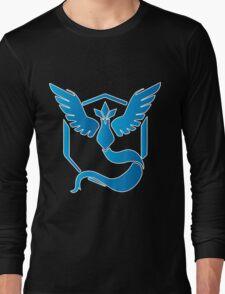 Team Mystic Blue Gradient Long Sleeve T-Shirt