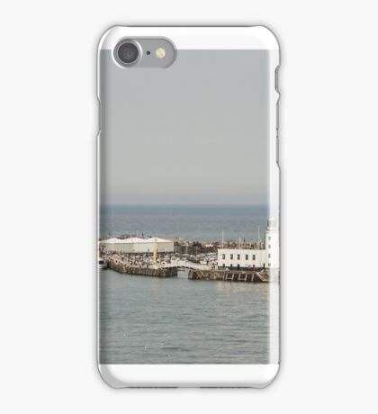 Scarborough Harbour iPhone Case/Skin
