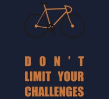 Dont Limit Your Challenges Corporate Start-up Quotes Kids Tee