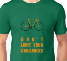 Dont Limit Your Challenges Corporate Start-up Quotes Unisex T-Shirt