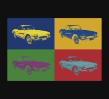 1962 Chevrolet Corvette Convertible Pop Art Kids Clothes