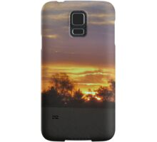 Red in the Morning Samsung Galaxy Case/Skin