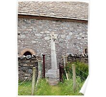 St Moulag's Cross Poster