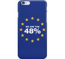 Brexit I Voted Remain iPhone Case/Skin
