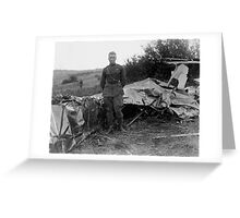 Frank Luke - WWI Fighter Ace Greeting Card