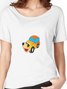 happy car Women's Relaxed Fit T-Shirt