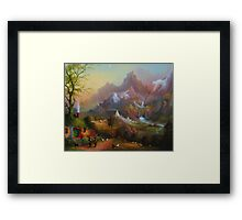 From The Shire To The Sea Framed Print