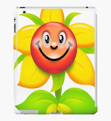 happy flower iPad Case/Skin