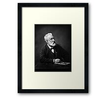 Jules Verne - Father of Science Fiction Framed Print