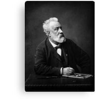 Jules Verne - Father of Science Fiction Canvas Print