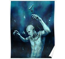 Oceans so deep, he will drown in his sleep Poster