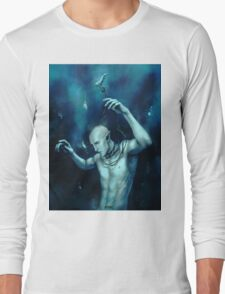 Oceans so deep, he will drown in his sleep Long Sleeve T-Shirt