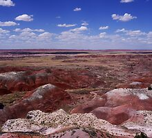 The Painted Desert, Nature's Masterpiece by Kitrina Arbuckle
