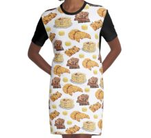 Sweets & Treats Breakfast Collection Graphic T-Shirt Dress