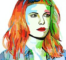 Hayley Williams fan art :3 by Briisallamasaur