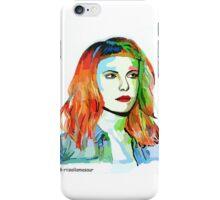 Hayley Williams fan art :3 iPhone Case/Skin