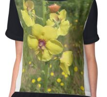 Yellow flower of the Pacific Northwest Oregon Chiffon Top