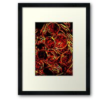 The color of money Framed Print