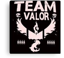 Pokemon Go #TeamValor #ValorClub (Bullet Club and #TheClub inspired) Canvas Print