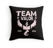 Pokemon Go #TeamValor #ValorClub (Bullet Club and #TheClub inspired) Throw Pillow