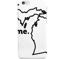 Michigan. Home. iPhone Case/Skin