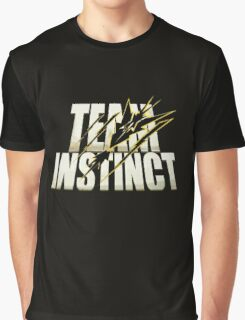 Pokemon Go #TeamInstinct Instincts Del Mal (Perros Del Mal inspired) Graphic T-Shirt