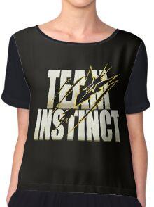 Pokemon Go #TeamInstinct Instincts Del Mal (Perros Del Mal inspired) Chiffon Top