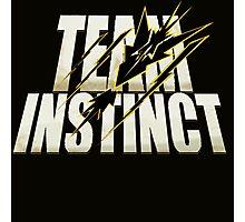 Pokemon Go #TeamInstinct Instincts Del Mal (Perros Del Mal inspired) Photographic Print