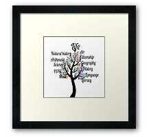 life tree Framed Print
