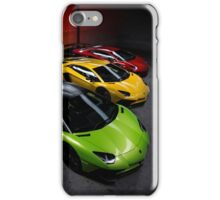 Lamborghini Aventador SV Roadster Traffic Lights iPhone Case/Skin