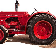 Hanomag Tractor by Deborah McGrath