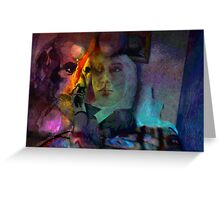 Dark Night Memories Greeting Card