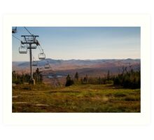 Southward view - Gore Mtn. Art Print