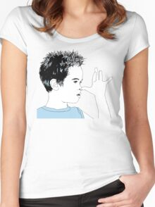 cheeky boy Women's Fitted Scoop T-Shirt