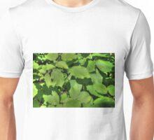 Green Summer Leaves Unisex T-Shirt
