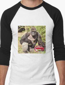 Dicks out for Harambe Movement 2016 Men's Baseball ¾ T-Shirt