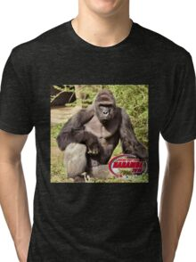 Dicks out for Harambe Movement 2016 Tri-blend T-Shirt