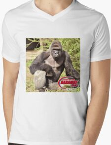Dicks out for Harambe Movement 2016 Mens V-Neck T-Shirt