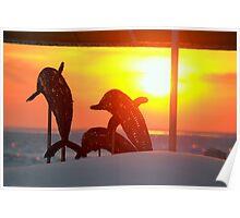 2014 Winter Sunset - 2 Poster