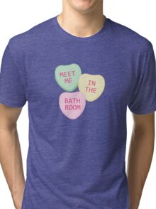 Meet Me In The Bathroom Tri-blend T-Shirt