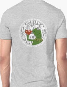 Kermit Sipping Tea (But that's none of my business) Unisex T-Shirt