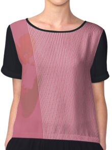 Pink Patterns Chiffon Top