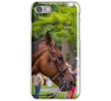 Saratoga - Brown horse iPhone Case/Skin