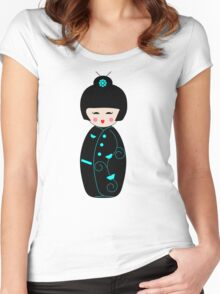 Geisha Doll Women's Fitted Scoop T-Shirt