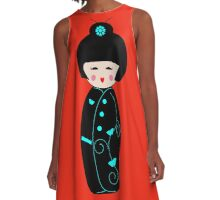 Geisha Doll A-Line Dress