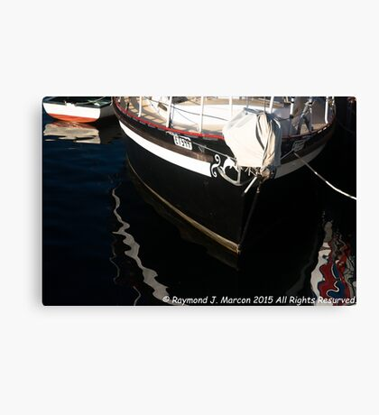 Paint On The Water. Canvas Print
