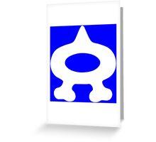 Team Aqua (Style A) Greeting Card