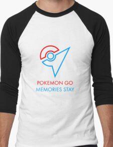 Pokemon Go Memories Stay Men's Baseball ¾ T-Shirt